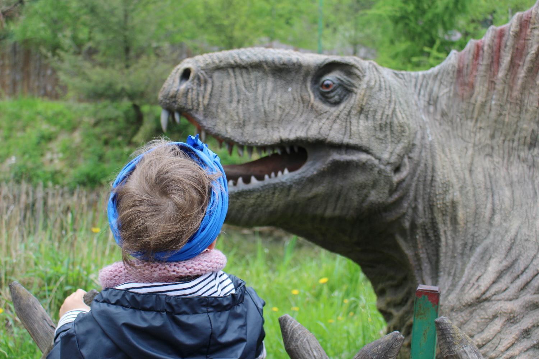 Charlie et les dinosaures